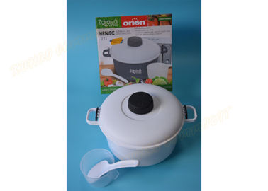 Chiny White Microwave Steamer Pot Pressure Cooker Steamer Warzywa Rice Pasta Cooking Pot Pan fabryka
